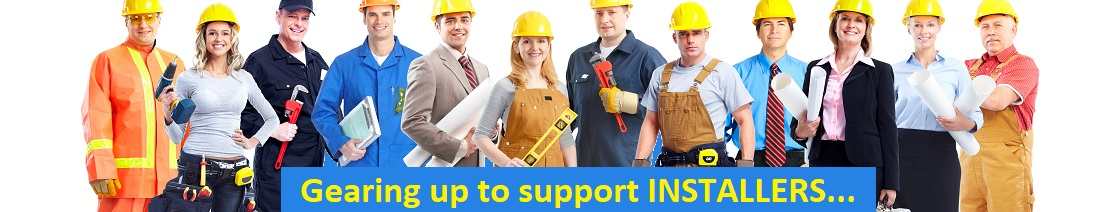 Designed to support Installers.